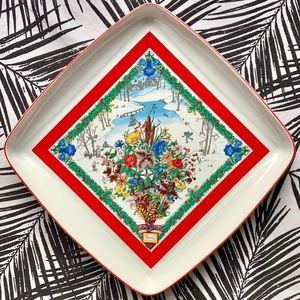 Rare Gucci Porcelain Tray/Plate